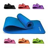Premium Yogamatte, Sportmatte, Gymnastikmatte, Fitnessmatte, Trainingsmatte oder zuhause mit...