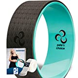Yoga Rad mit eBook inklusive & Yogagurt - Bequem & langlebiges Yoga-Zubehör I Yoga Wheel für mehr...