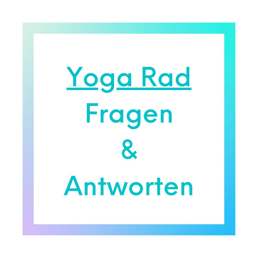 Yoga Rad Fragen Antworten