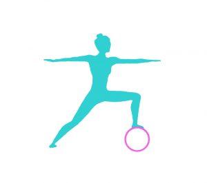 Yoga Wheel Rad kaufen Übungen krieger