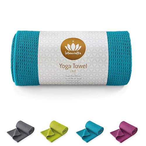 Lotuscrafts Yoga Handtuch